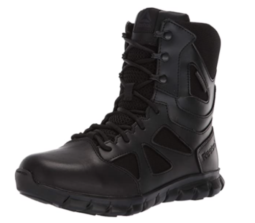 1. Reebok Sublite Cushion Military Waterproof Boots Women - Very Good Waterproof Leather Boots