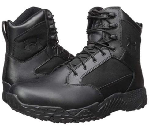 1. Under Armour Waterproof Boots for Men Military and Tactical Stellar Rain Boots