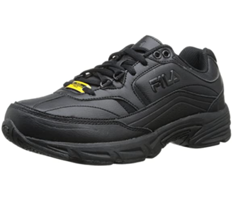 10. Fila Waterproof Shoes for Women - Women's Memory Workshift Slip Resistant