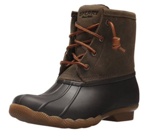 10. Sperry Saltwater Waterproof Boots Women - Top Rated Waterproof Ankle Boots
