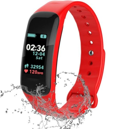 14. FJunHappy IP67 Waterproof Kids Fitness Tracker with Heart Rate and Blood Pressure Monitor