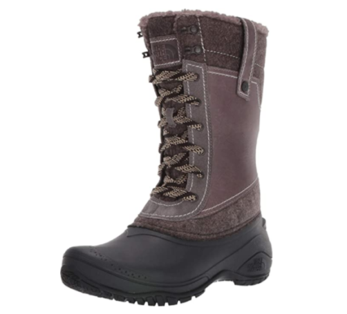 14. The North Face Shellista II Mid Snow Waterproof Boots Women