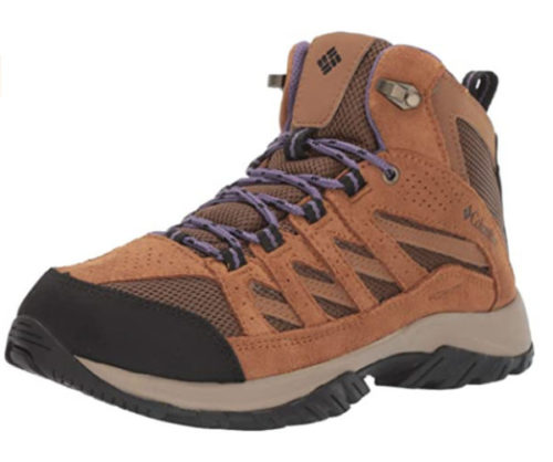 2. Columbia Waterproof Shoes for Women Crestwood Mid Water Resistant Shoes