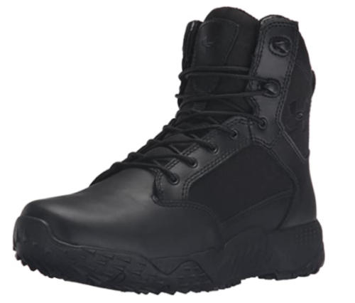 2. Under Armour Stellar Military Waterproof Boots Women - Top Rated Waterproof Leather Boots