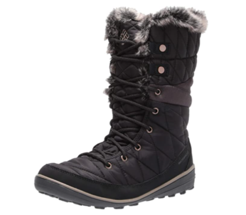 4. Columbia Omni Heat Snow Waterproof Boots Women - Breathable Waterproof Booties