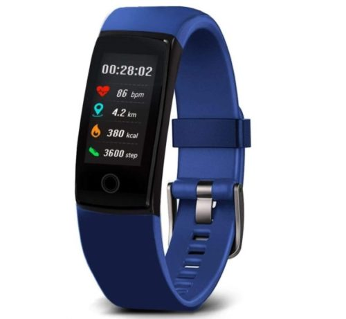 4. MorePro Waterproof Activity Kids Fitness Tracker with Health and Fitness Smart Monitor Tools