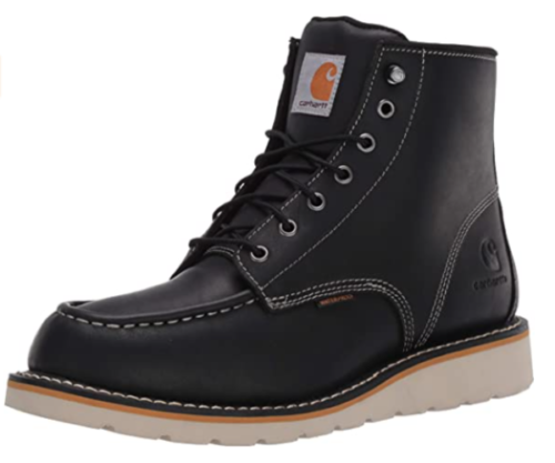 5. Carhartt Waterproof Boots for Men Wedge Soft Tow - Top Rated Waterproof Work Boots