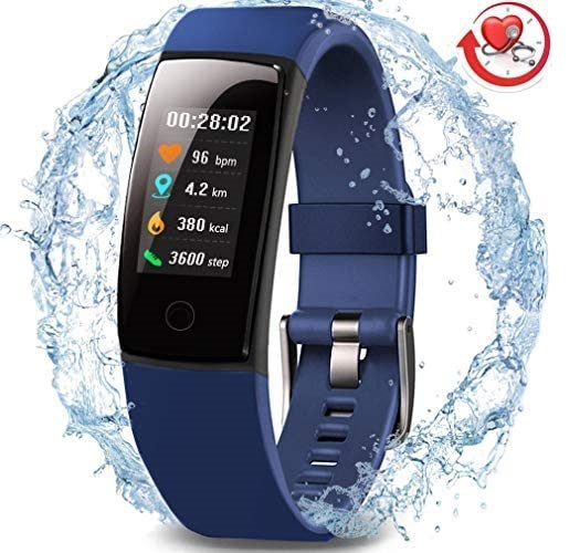 5. MorePro Waterproof Health Smart Bracelet Tracker - Activity Tracker with Heart Rate Monitor