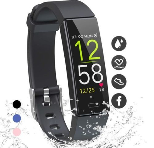 6. K-berho Fitness Tracker for Kids with Heart Rate Monitor and Modern Smart Fitness Tool s