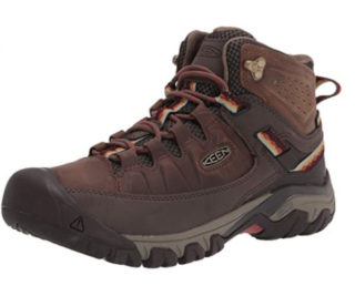 6. KEEN Boots Women Targhee Mid Hiking Women Waterproof Boots