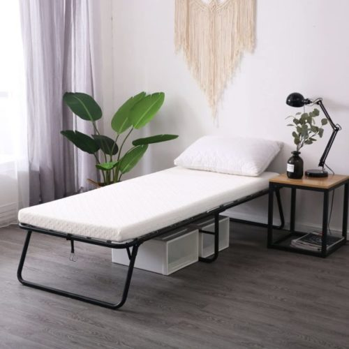 6. Simmons Beautysleep Portable Bed with Memory Foam Portable Mattress and Folding Bed Frame