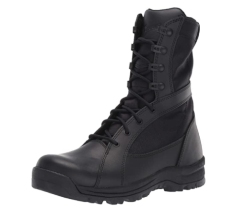 7. Danner Military Waterproof Boots Women with Prowess Side Zip Tactical Boots - Top Rated Waterproof Leather Boots