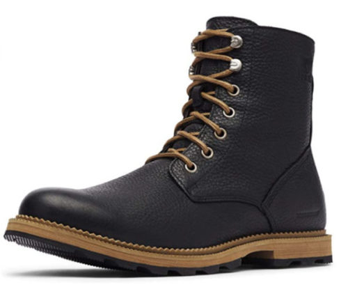 7. Sorel Waterproof Boots for Men Madson 6 -Top Rated Waterproof Leather Boots