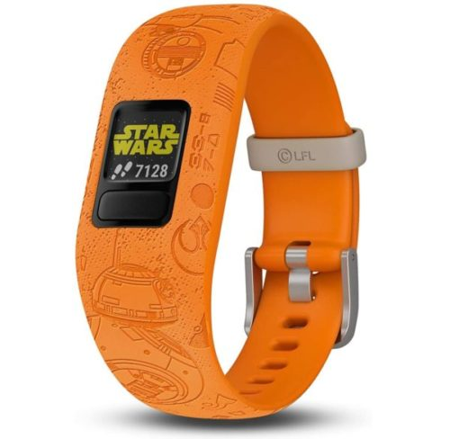 8. Garmin Star Wars The Resistance kids fitness Trackers with Adjustable Band