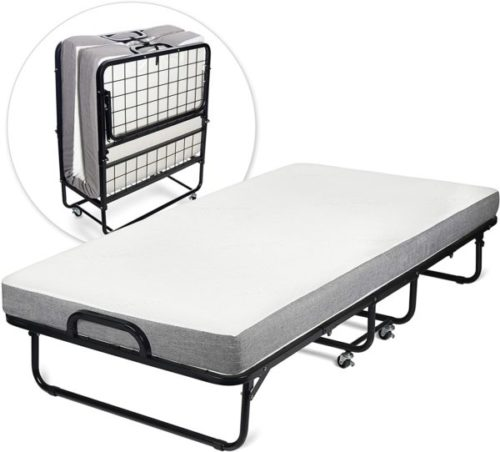 8. Milliard Diplomat Super Strong Guest Bed with Portable Mattress - Best Portable Bed