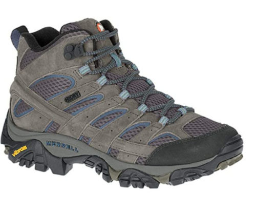9. Merrell Hiking Mid Waterproof Boots Women