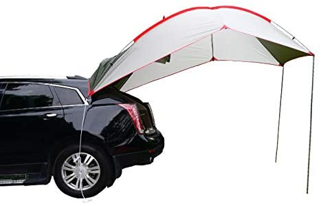 Wind Tour Portable Waterproof Car Rear Tent for Outside Camping
