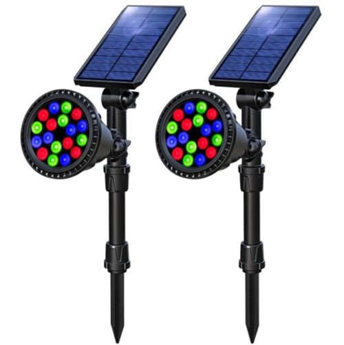 OSORD LED Solar Christmas Lights Outdoor Multicolor Waterproof