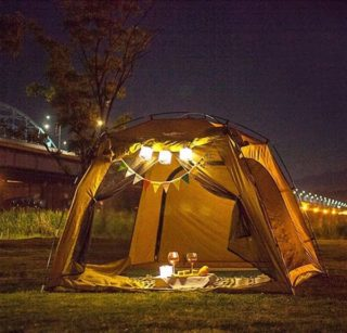 Solar Powered Lanterns for Camping