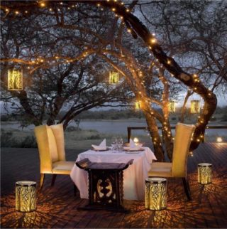 Solar Powered Lanterns for Home and Garden