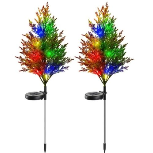 Vosaro Waterproof Solar Christmas Lights Outdoor Decoration with Multi-Color