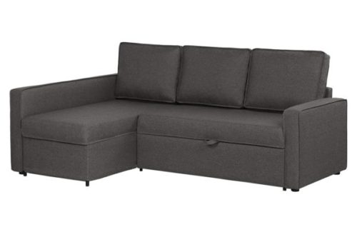 South Shore Cozy L-Shaped Sofa Bed with Storage