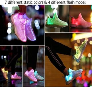 Light Up LED Shoes for Women and Men