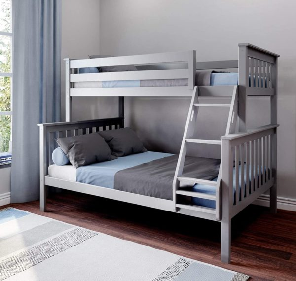 Max & Lily Bunk Bed With Trundles for Kids